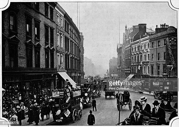High Street Kensington London circa 1900 From Living London Vol 1 edited by George R Sims [Cassell and Company Limited London Paris New York...