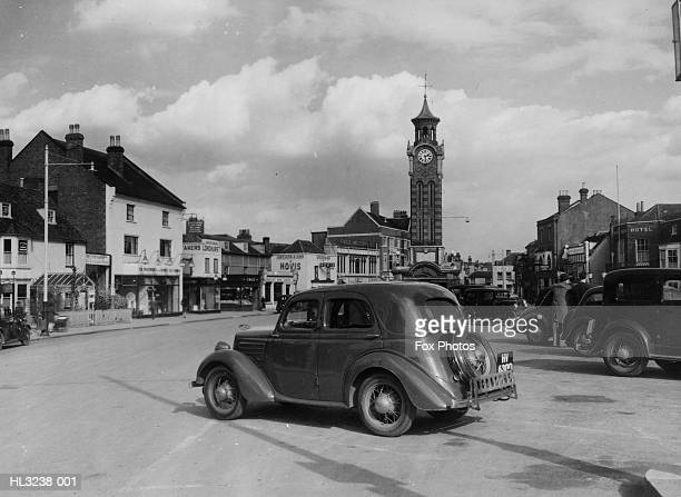 high street - 1947 stock pictures, royalty-free photos & images