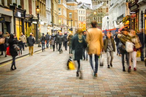 High Street shopping street 1020058680