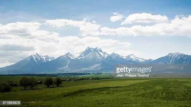 High tatra mountains in spring, Slovakia