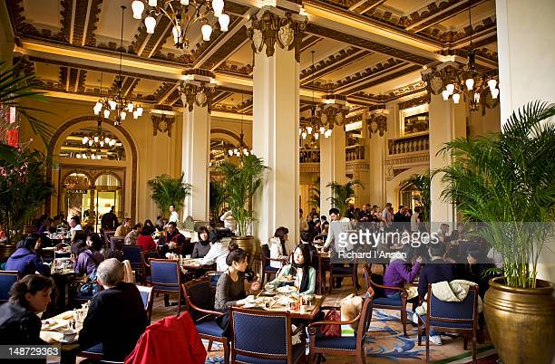 High tea at Peninsula Hotel.