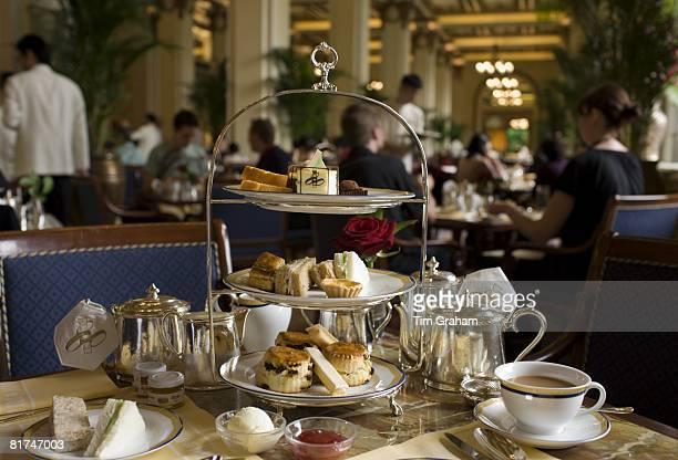 High tea at the Peninsula Hotel Hong Kong China