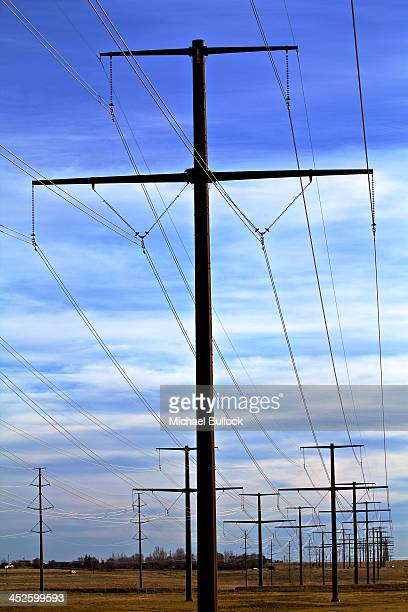 CONTENT] High tension high voltage power transmission lines Colorado Springs area Colorado