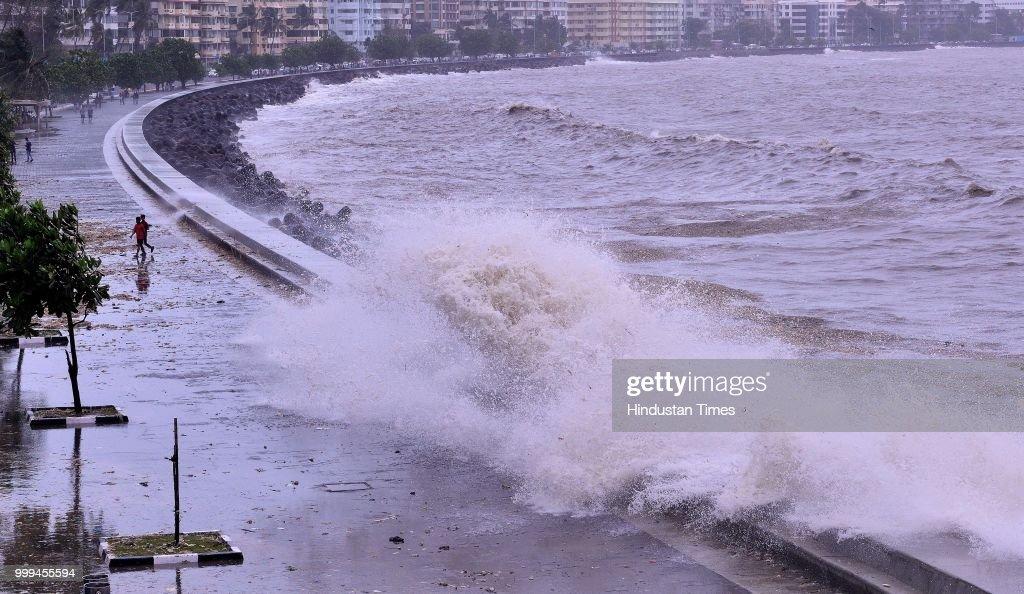 Mumbai Sees Highest Tide Of The Season