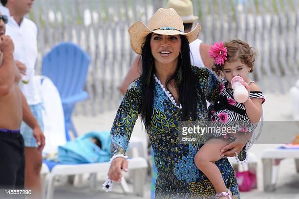 "High Tide, Low Blow"" Episode 401 -- Pictured: Teresa Giudice, daughter Audriana Giudice --"