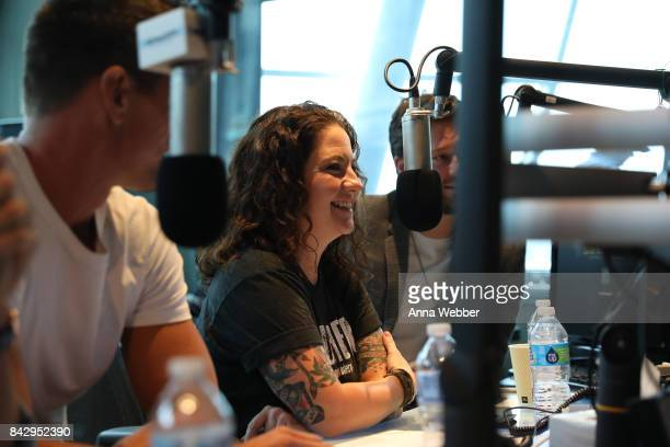 High Valley Ashley McBryde And Adam Doleac Visit The SiriusXM Studios In Nashville at SIRIUS XM Studio on September 5 2017 in Nashville Tennessee