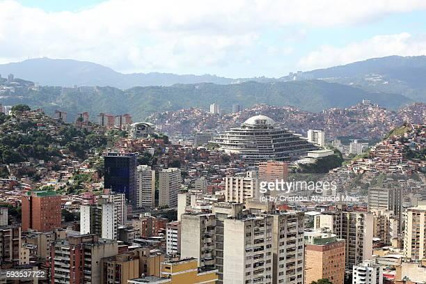 high view of caracas, venezuela - カラカス ストックフォトと画像