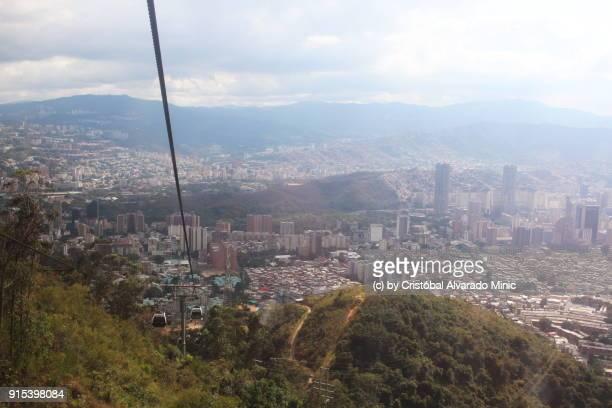 high view of caracas, venezuela - caracas stock pictures, royalty-free photos & images