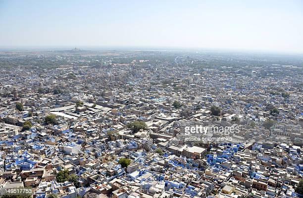 High view of Jodhpur