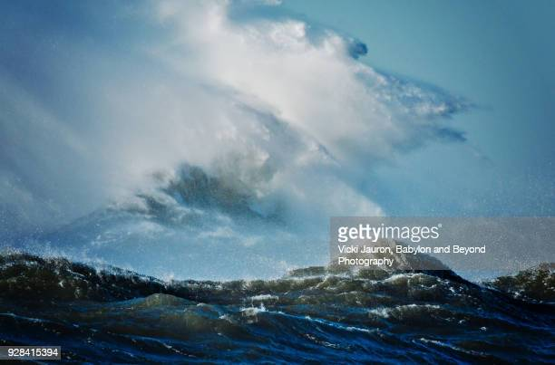 High Waves and Rough Seas After Storm
