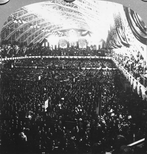 Republican National Convention, Chicago, IL, 1908. Wall Art