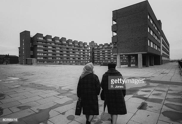 Highbury Quadrant Estate in London 7th April 1970