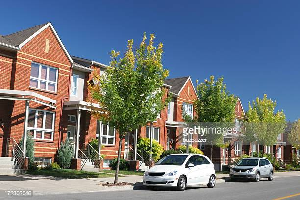 high-class neighborhood - buzbuzzer stock pictures, royalty-free photos & images