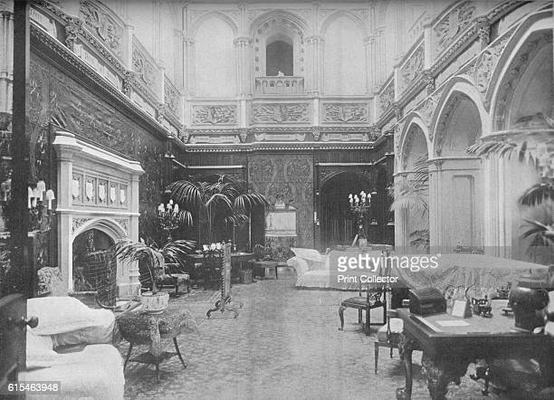 Highclere Castle, Hampshire - The Earl of Carnarvon', 1910. Highclere Castle s a country house in the Jacobethan style, with a park designed by...