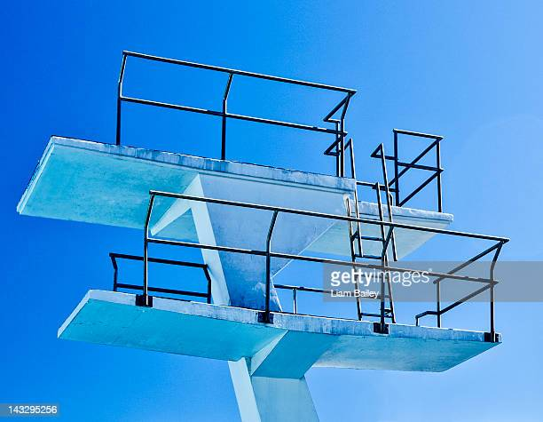 High-diving board structure