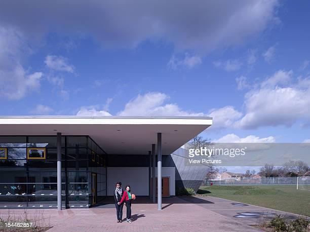 Highdown School Reading United Kingdom Architect Haverstock Associates Llp Entrance Canopy