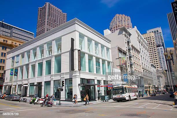 High-end retail shops, San Francisco