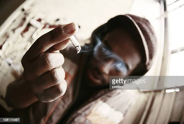 higher level - marijuana joint stock pictures, royalty-free photos & images