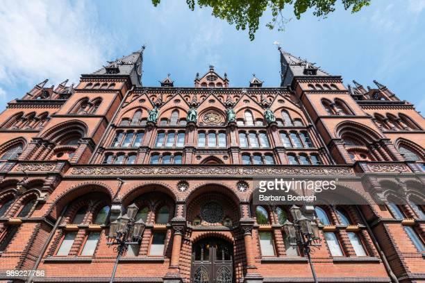 higher regional court, staendehaus, rostock, mecklenburg-western pomerania, germany - rostock - fotografias e filmes do acervo