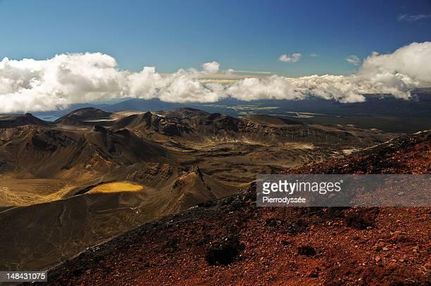 Highest view of Tongariro