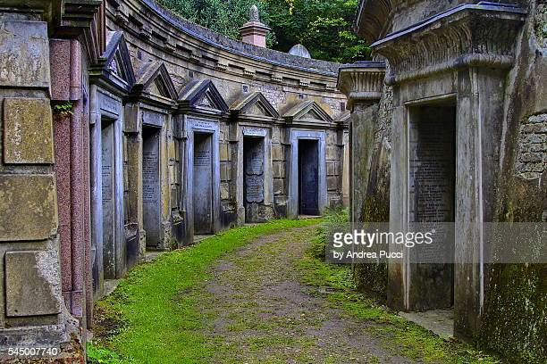 highgate cemetery, london, united kingdom - highgate stock pictures, royalty-free photos & images