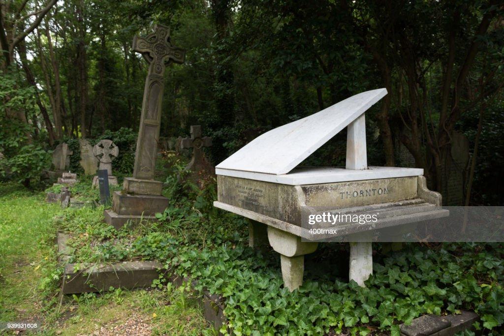 Highgate Cemetery : Stock-Foto