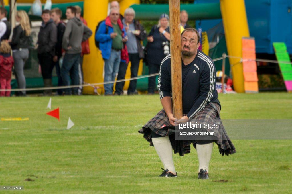Highland Games, Assynt, Scotland : Stock Photo