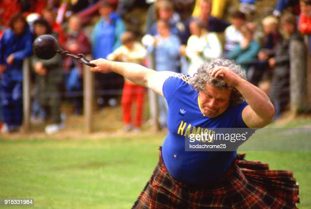 Highland Games Portree Isle of Skye Scotland UK