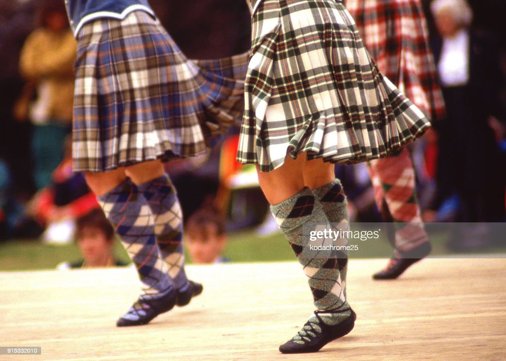 Highland Games Portree Isle of Skye Scotland UK : Stock Photo