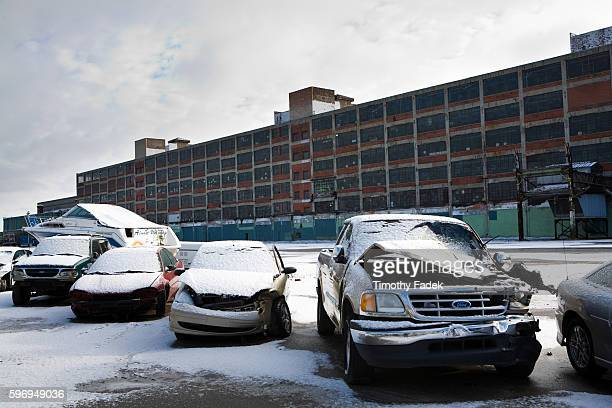 Highland Park Ford Factory not operational The decadeslong decline of the US automobile industry is acutely reflected by the urban decay in Detroit...