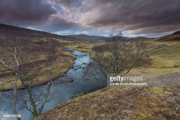 a highland strath. - hauts de france stock photos and pictures