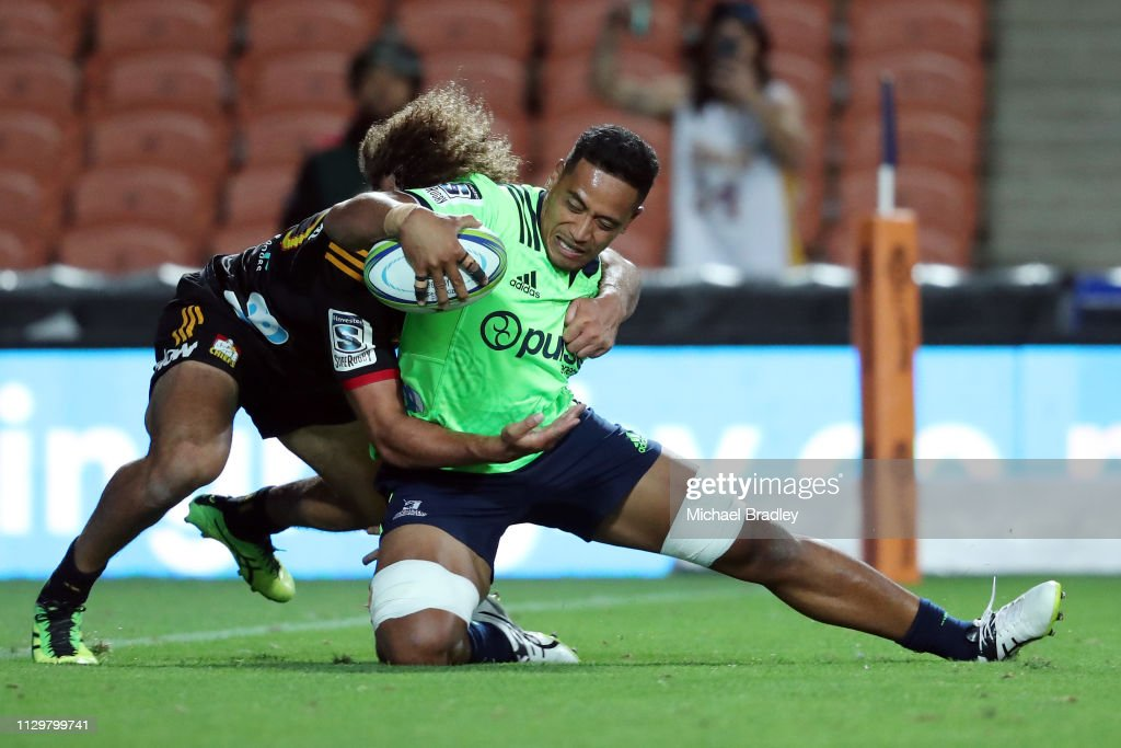 Super Rugby Rd 1 - Chiefs v Highlanders : News Photo
