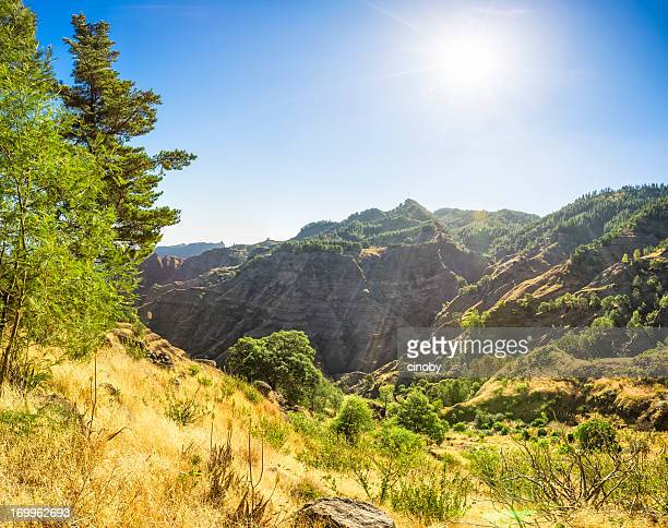 highlands of santo antao / capo verde - cape verde stock pictures, royalty-free photos & images