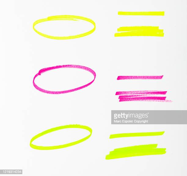 highlighter - felt tip pen stock pictures, royalty-free photos & images