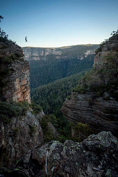 Highlining, Blue Mountains, Australia