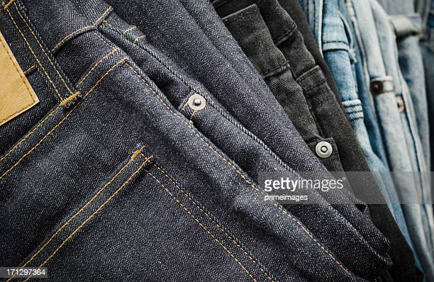 Highly detailed  of  Blue Jeans