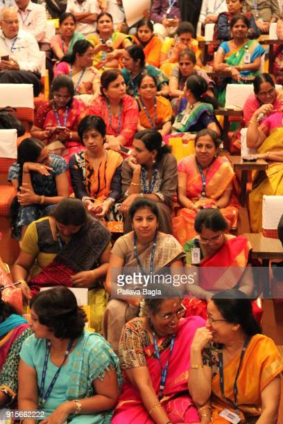 Highly skilled women engineers from India's space program eagerly await to listen to technical details of ISRO missions for 2018 The Indian Space...
