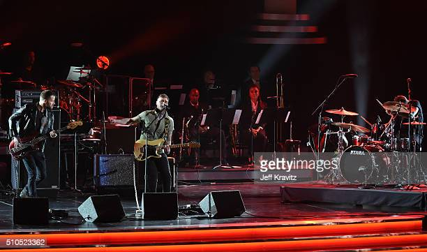 Highly Suspect performs onstage during The 58th GRAMMY Premiere Ceremony at Los Angeles Convention Center on February 15 2016 in Los Angeles...