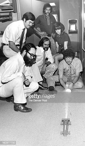 AUG 9 1974 AUG 11 1974 HighPressure Performance At Agency Testing a Screaming Eagle rocket car at Broyles AIlebough Davis is John Parenti account...