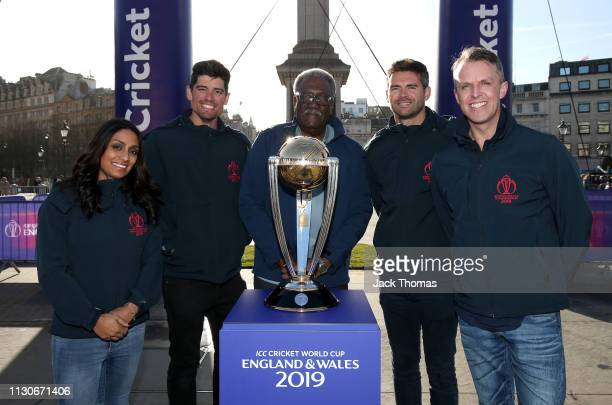 Highprofile figures from the world of sport governance culture and entertainment Isa Guha Alastair Cook twotime ICC Cricket World Cup winner Clive...
