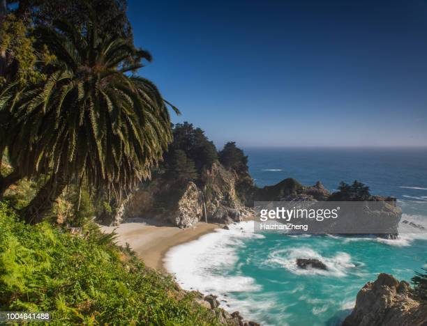 high-resolution view of mcway falls - mcway falls stock pictures, royalty-free photos & images