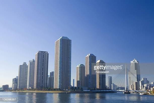 high-rise apartment building - kanto region - fotografias e filmes do acervo