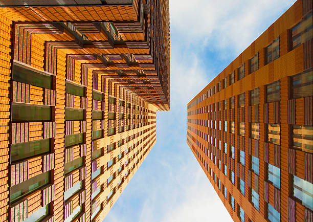 Highrise in Amsterdam's financial district