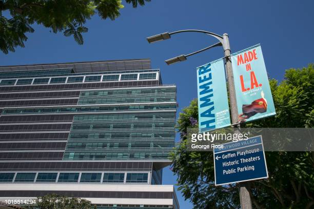 A highrise office building in Westwood Village is viewed on August 7 2018 in Los Angeles California Millions of tourists flock to the Los Angeles...