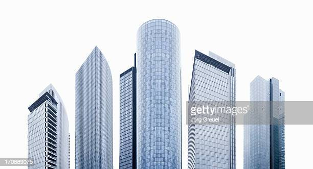 high-rise office buildings - skyscraper stock pictures, royalty-free photos & images