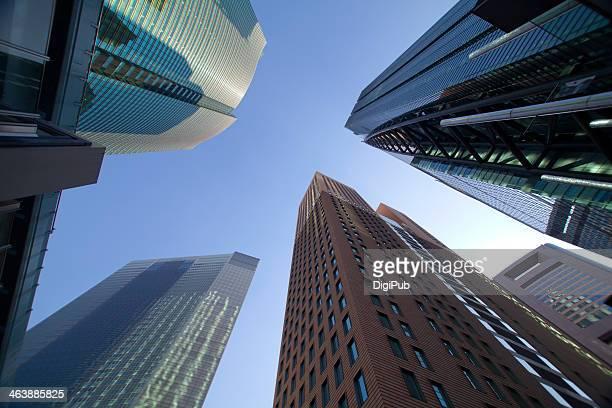 High-rises in Shiodome