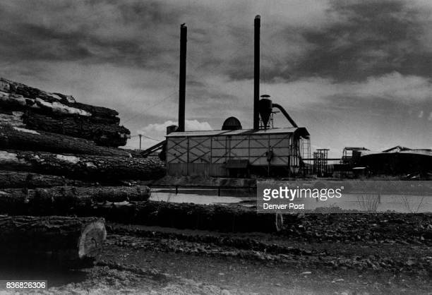 Highs and Lows in Vistas of Pagosa Springs Lifeless smokestacks of a lumber mill north of town reflect the unemployment problem facing Pagosa Springs...