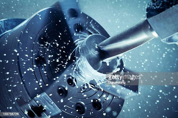 high-speed drill. - cutting stock pictures, royalty-free photos & images