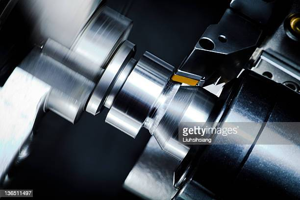 high-speed rotary thimble - turning stock photos and pictures