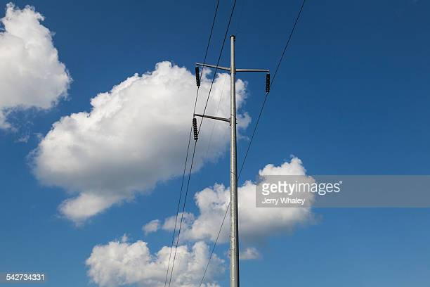 high-voltage electrical wires - jerry whaley stock pictures, royalty-free photos & images